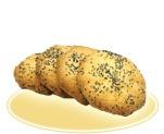 «Творожное печенье» с маком