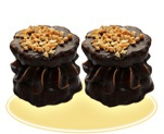 «Загадка» с зефиром, мармеладом, арахисом, в шоколадной глазури