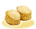 «Пончики» с яблочной начинкой
