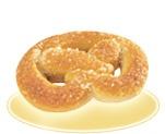 «Крендель» с ванильной начинкой