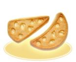 Печенье сахарное «Сырное»